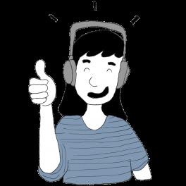 Wir empfehlen Kopfhörer aufzusetzen